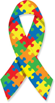 Autism Society of Central Vancouver Island  ribbon